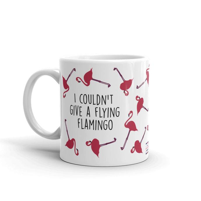Flying Flamingo Mug
