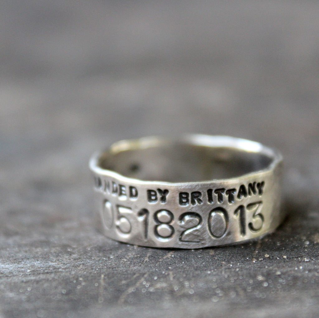 narrow duck band wedding ring for men and women - unisex