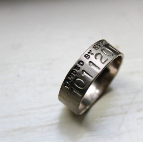 Unique Duck Band Wedding Rings