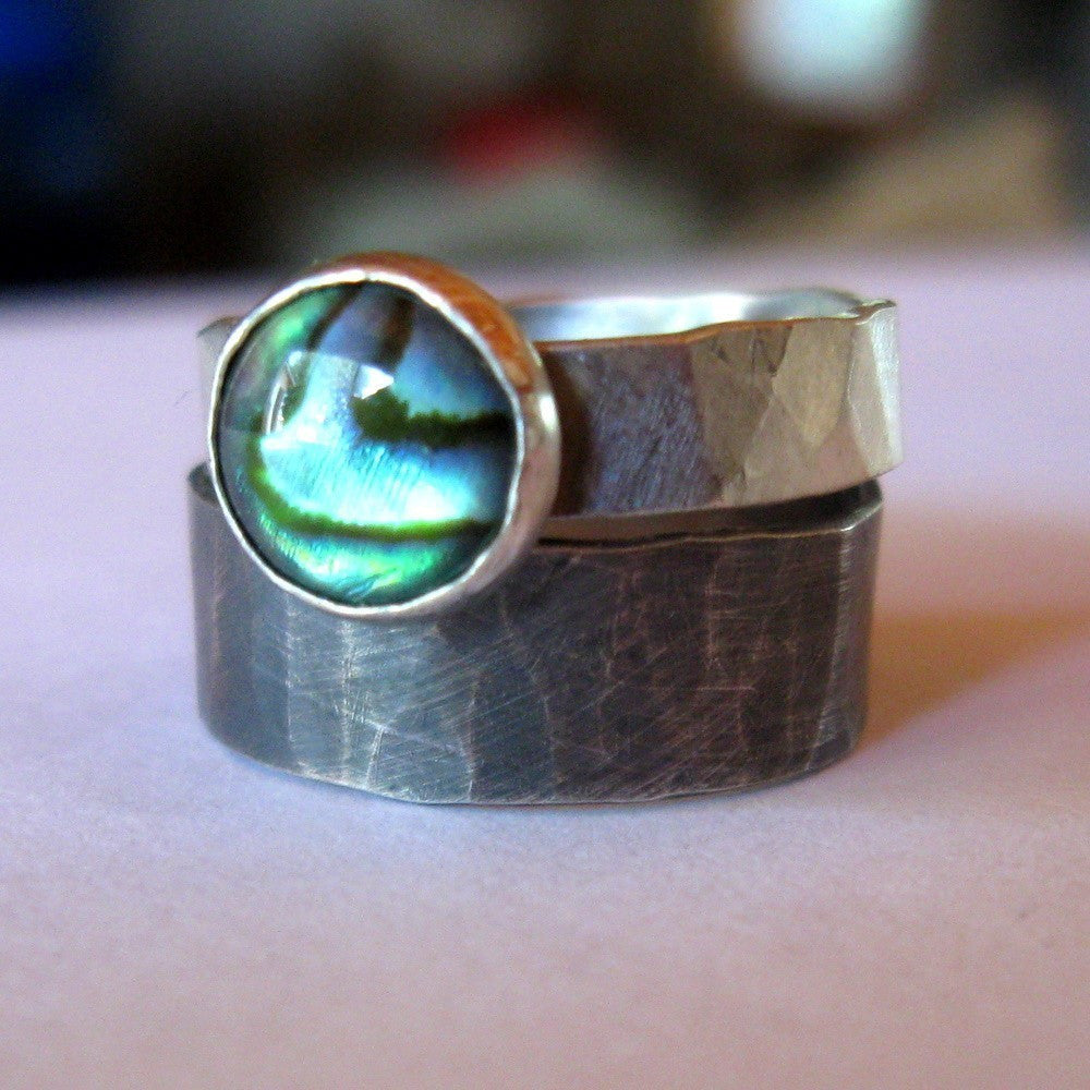 rings p tungsten item shell personalized abalone your easily find