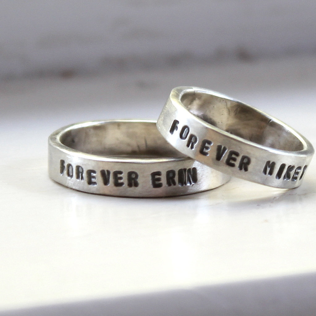 new wording pip wedding of milly personalised pillow exchange rings by and ring gallery