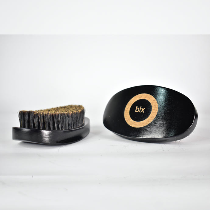 blx. Curved Brush - Soft Boar Bristle