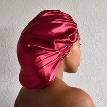 Load image into Gallery viewer, blx. Satin Bonnet - Maroon