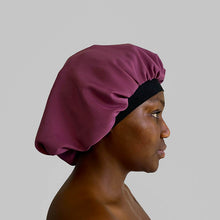 Load image into Gallery viewer, blx. Elastic Satin Bonnet - Lavender