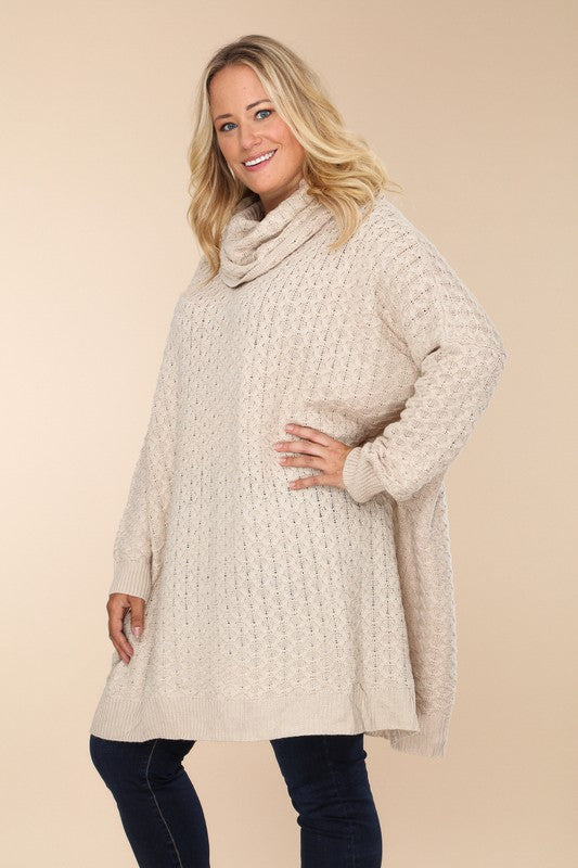 Keep It Cozy Cowl Neck Sweater
