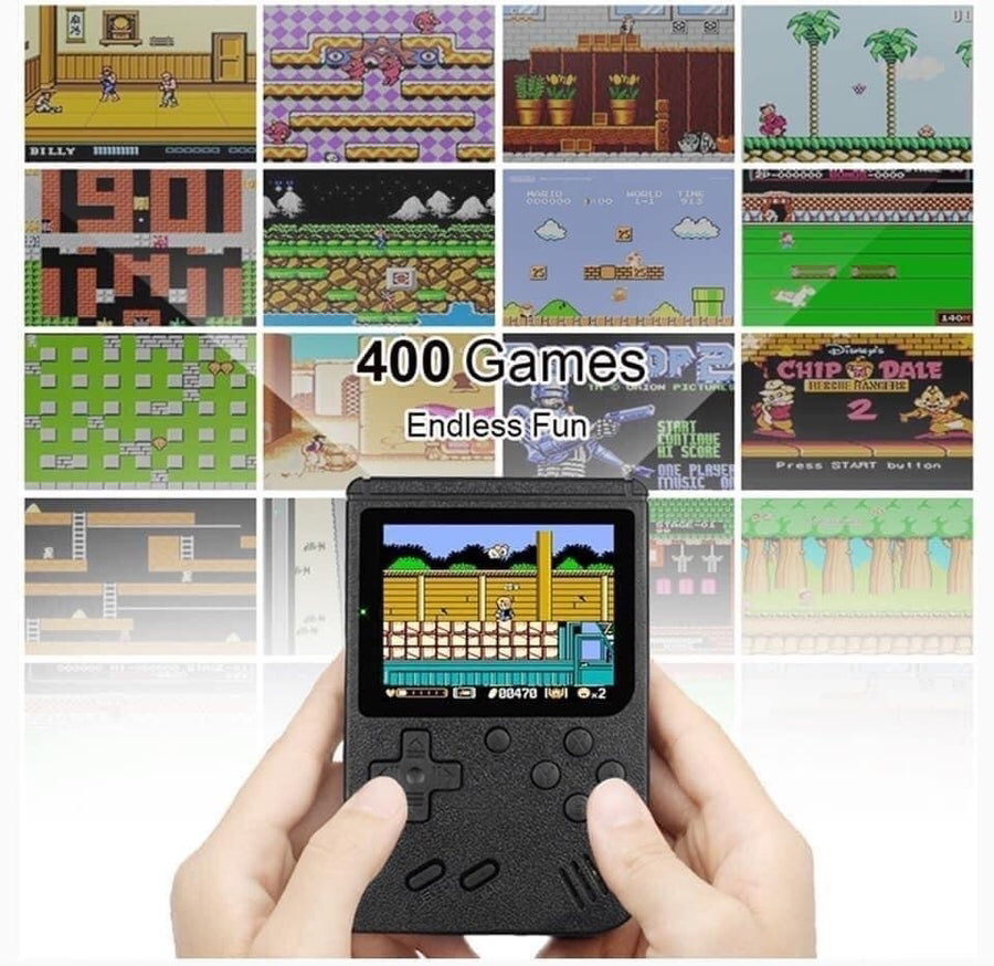 400 Games In One Handheld System