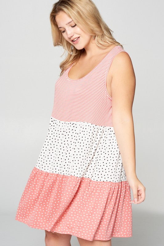 Final Sale On The Dot Tunic