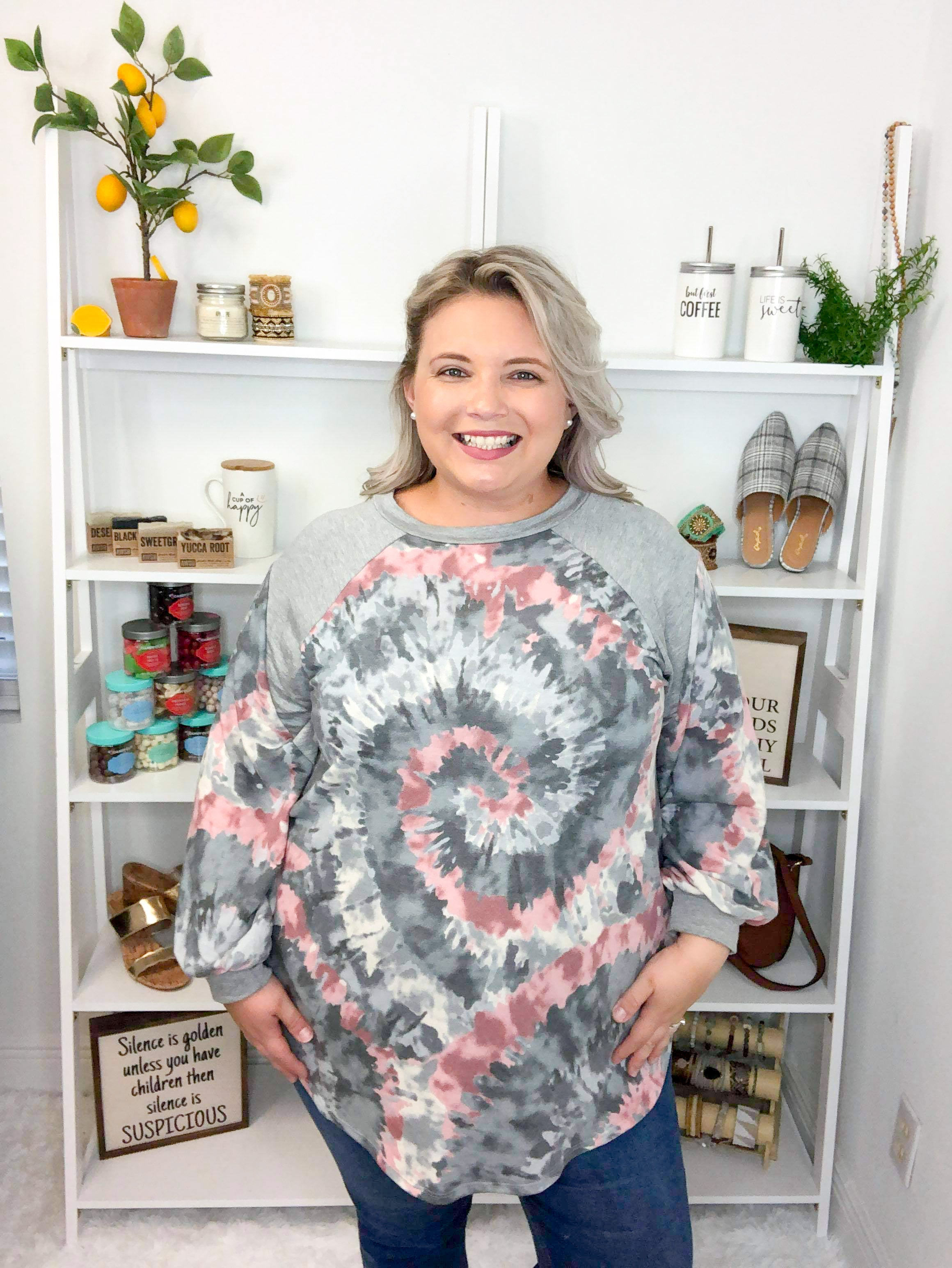 Gray Gal Tunic