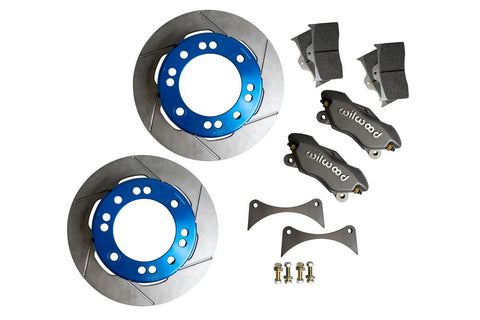 Front 05+ Super Duty Unit Bearing Light Weight Brake Kit