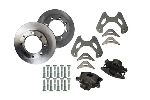 GM 14 Bolt Rear 3/4 Ton Brake Kit