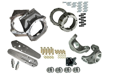 Magnum Knuckle Kit with 2005+ Super Duty Unit Bearing Adapters