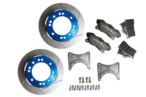 Rear 05+ Super Duty Unit Bearing Light Weight Brake Kit