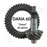 "Ring & Pinion Gear Set - Dana ""Super"" 60 - 35 spline"