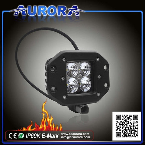 Aurora 2″ 20 watt Work Light Flood/Flush Mount