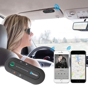 Kit de Manos Libres Bluetooth para Visera de Automóvil
