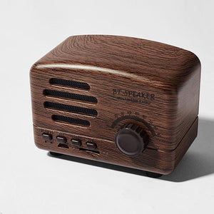 Bocinas Retro Bluetooth