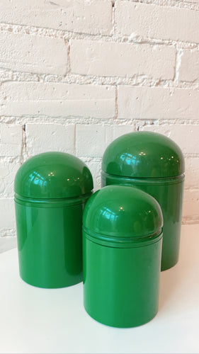 Vintage Anna Castelli Ferrieri for Kartell Canisters