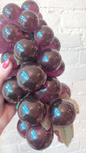 Vintage Purple Lucite Grapes