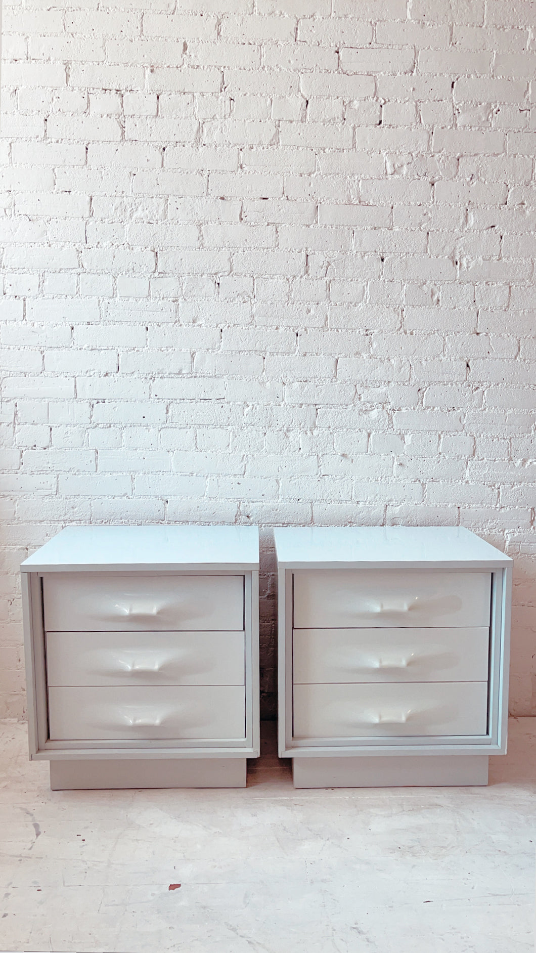 1970's Treco Nightstands (Giovanni Maur) Made in Canada (PAIR)