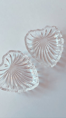 Crystal Heart Ring Dish