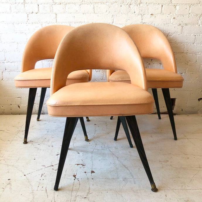Atomic Peach Chairs