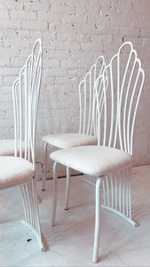 Vintage 1980's Cloud Chairs (Set of 4)