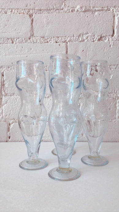 1960's Venus Beer Glasses