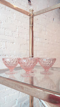 Vintage Pink Cocktail Glasses