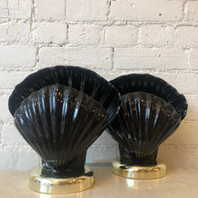 Vintage 1980's Shell Lamps