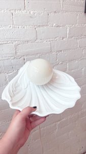 Vintage Shell Lamp