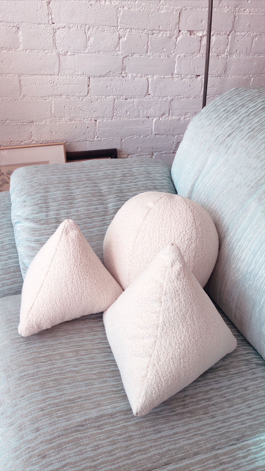 Boucle Shape Pillows