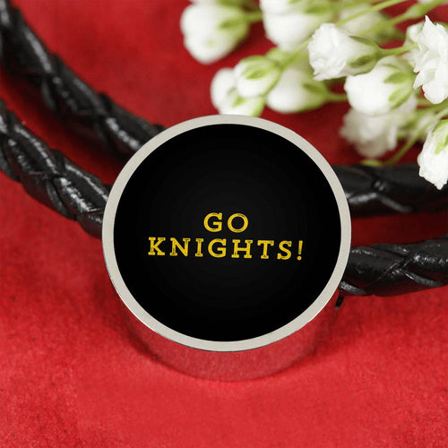 Knights Leather Bracelet