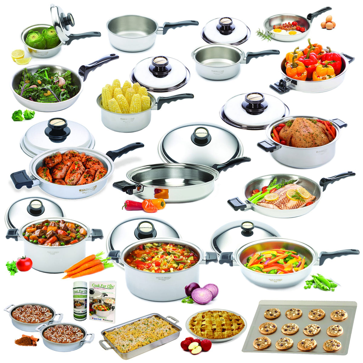 Shop All Kitchen Craft Waterless Cookware – Cooking With ...