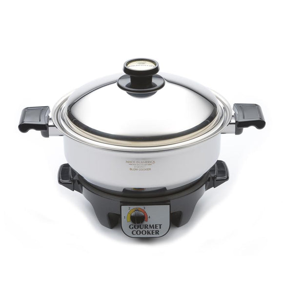 6 Quart Gourmet Cooker with Cover and Base