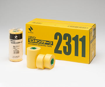 Nichiban #2311 Yellow Washi Masking Tape
