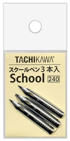 Tachikawa School Nibs T5-3 3 Pack- Box of 10