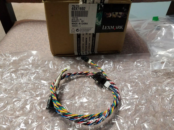 NEW GENUINE Lexmark 40X1692 Cable Assembly with Sensors Part