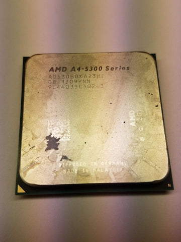 AMD A-Series A4-5300B 3.4GHz Socket FM2  Desktop CPU AD530BOKA23HJ