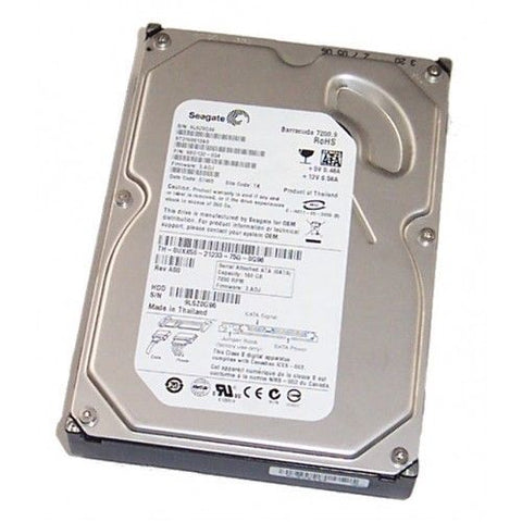 "Dell Seagate Barracuda 160GB 7200RPM SATA 3Gb/s 3.5"" Hard Drive HDD ST3160812AS"