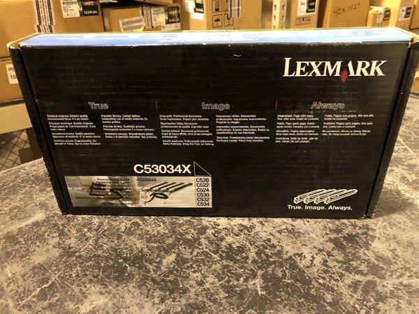 New And Genuine Lexmark C53034X Photoconductor