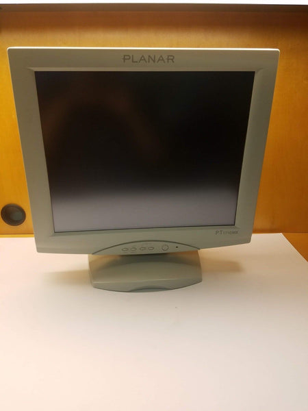 "Excellent Planar PT1710MX-WH 17"" Touch LCD Monitor w/Speakers 997-3351-00"