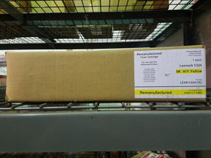 5K YELLOW Remanufactured Toner Cartridge LEXMARK C5240YH C522 C524 C530 C532