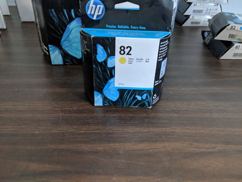 C4913A HP 82 YELLOW  Ink Cartridge NEW GENUINE Exp 12/15