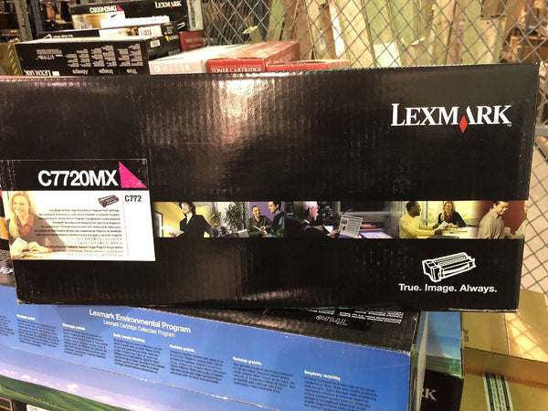 Genuine New Lexmark C7720MX Magenta Toner Cartridge Genuine New
