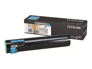 Genuine Lexmark C930H2CG High Yield Cyan Toner Cartridge - NEW SEALED IN BOX