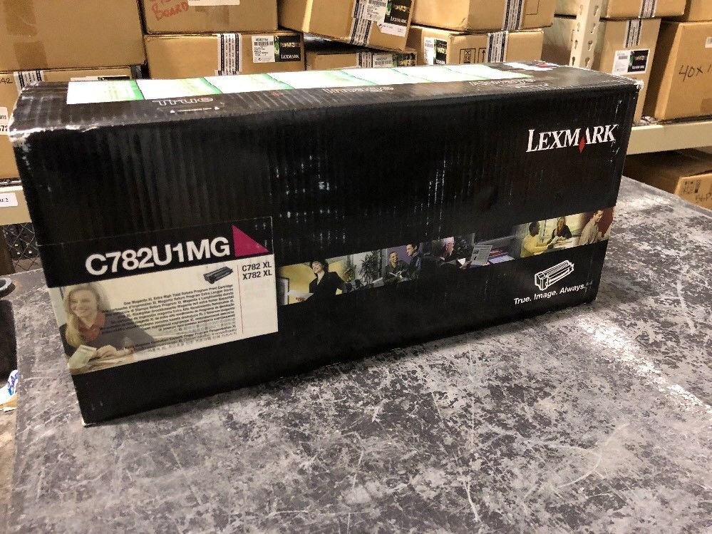 NEW Lexmark C782U1MG Magenta Extra High Yield Toner Print Cartridge C782 X782