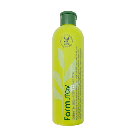 Farmstay Green Tea Seed Moisture Emulsion 300Ml - MÓA MOA