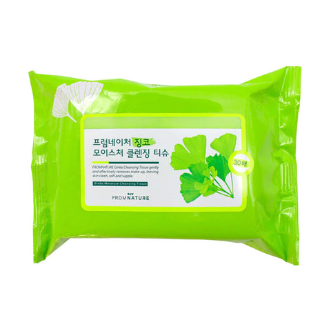 Fromnature Ginko Moisture Cleansing Tissue 116G Ginka - MÓA MOA