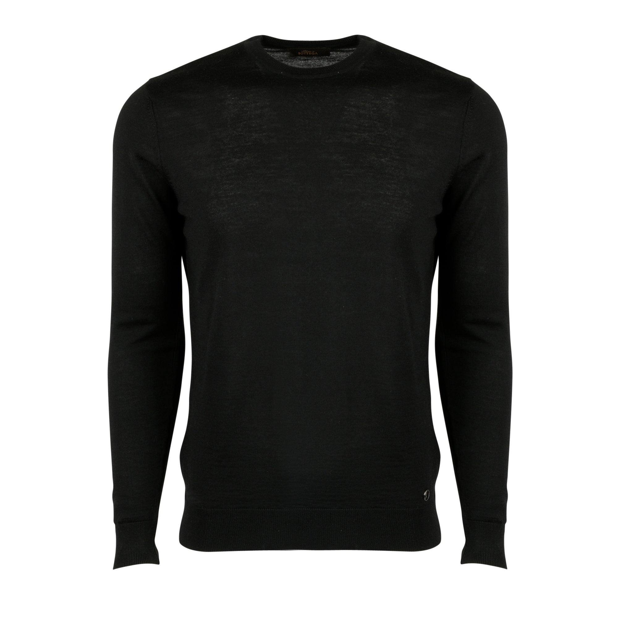 Ace Crewneck Sweater in Black