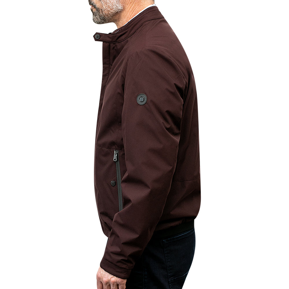 Kozas Jacket in Burgundy